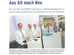 Business in MG: Investorendialog im Monforts Quartier: Vorschau